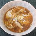 ミョウガと椎茸の卵とじ汁