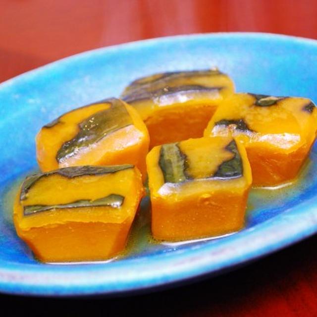 かぼちゃのはちみつバター煮