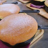 グリとグラのスキレットカステラパンケーキ~オレンジの香り~
