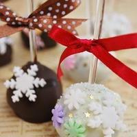winter cake pops !!