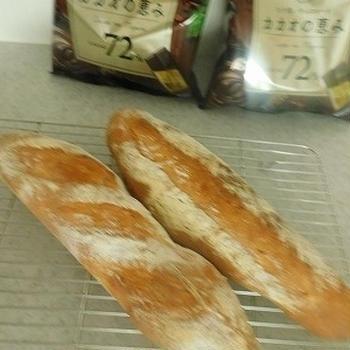 ロッテ カカオの恵み★フランスパン作り!!