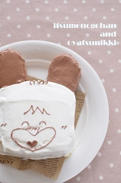 「おはようスパンク」のショートケーキ♪