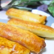 大根とベーコン&チーズ春巻き♪後引く美味しさ発見