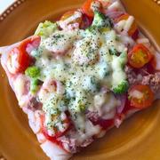 カリッともちもち新食感♪「うどんピザ」を作ってみよう!