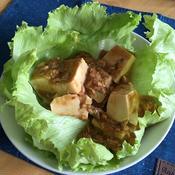 秋鮭の麻婆豆腐