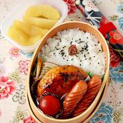 【今日のおべんと】豆腐ハンバーグ弁当 ~ハンバーグをわっぱにどう詰めるか~