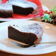 ホットケーキミックスで クリスマス ガトーショコラ ☆