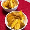 レモンペパー風味のオーブンチップス