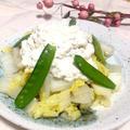 デリの味!?白菜の豆腐シーザーサラダ