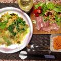 春爛漫!春野菜と桜エビのパスタ・フェデリーニ