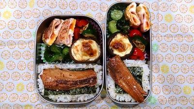 多国籍料理弁当&かれいの煮付け定食