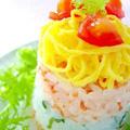 クリスマスに!パーティー押し寿司レシピ5選 by みぃさん