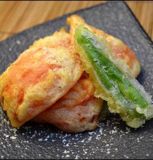 トマトの天ぷら