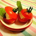 ミニトマトの一口前菜