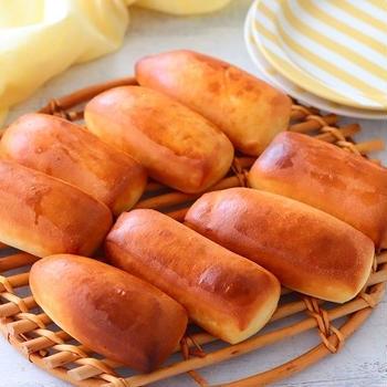 切りっぱなしの成形不要のパン