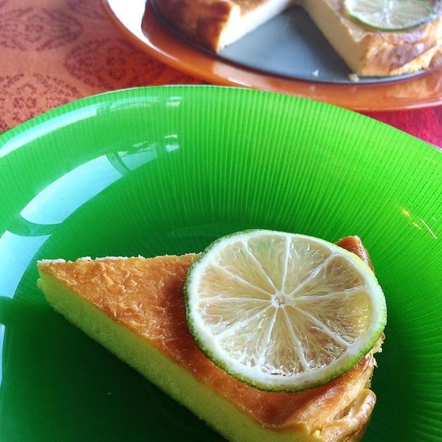 ライムチーズケーキ