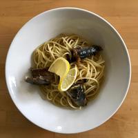 【レシピブログ】かぼすとオイルサーディンのパスタ × 広島のシャルドネ