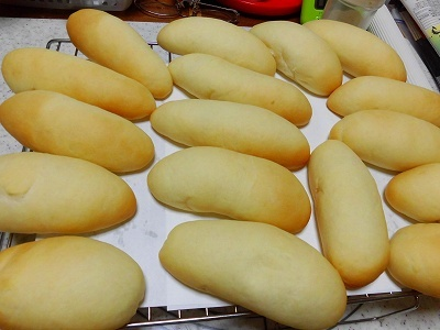 ふんわりやわらか・・ミニスティックパン~