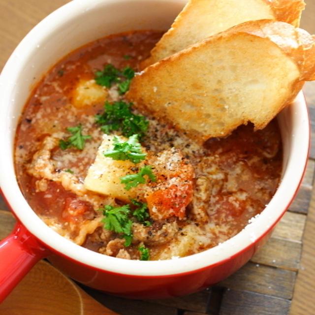 高圧力鍋で作るトマトスープ