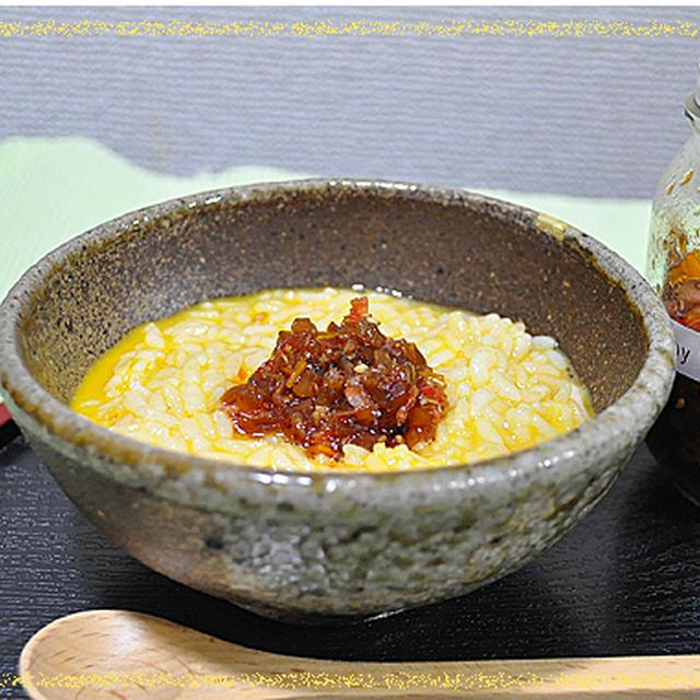 沢庵(たくあん)とスパイスで作る ☆ 食べるラー油