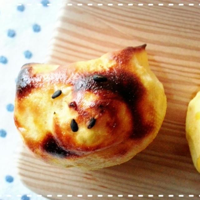 今年も共食いスイートポテト~作りました♡(*^^*)♡