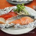 鮭の塩麹ホイル焼き