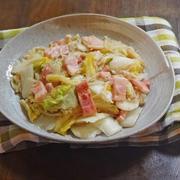 フライパンで簡単!ベーコンと白菜のあんかけ炒め