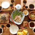 レシピブログ連載更新「夏ランチ♪ざる蕎麦バイキング」