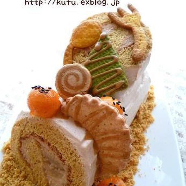 きなこのロールケーキ☆