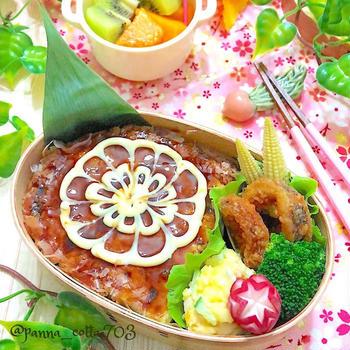 お好み焼き弁当&無水カレー