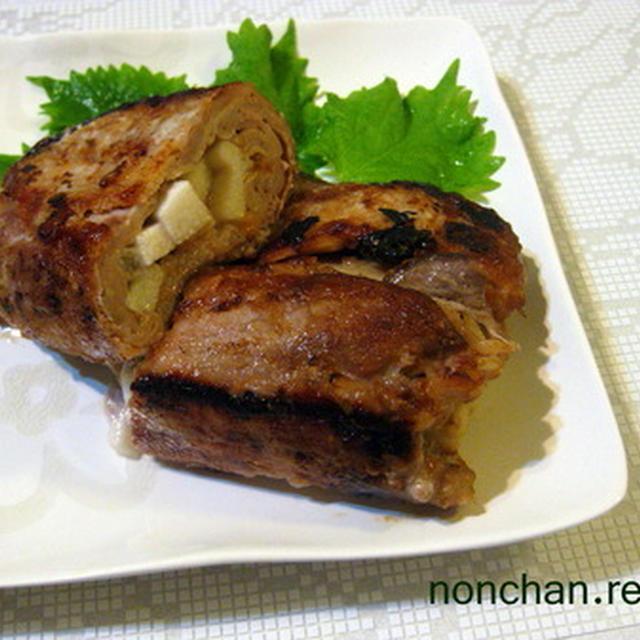 豚ロースと長芋の豪快焼き*・゜゚・*:.。..。.:*・゜