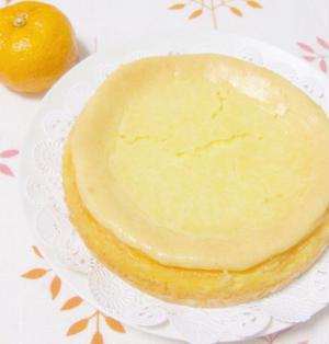 爽やか☆柚子のチーズケーキ