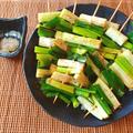 美味しい主役級。即消える蜂蜜山椒醤油の甘トロネギ串焼き(糖質6.2g) by ねこやましゅんさん