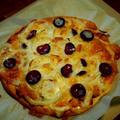手作りピザ!