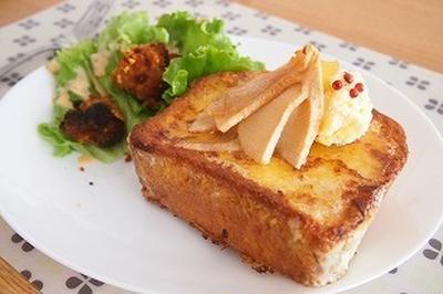 ■メニュー■手羽先の胡椒焼き、スナップエンドウの鰤あんかけ、ポテトサラダ*6月5日