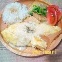 ☆豆腐で秘密のオムレツ☆