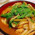 """濃厚な赤味噌の風味が、 うどん麺によくマッチ """" 味噌煮込みうどん"""" by アレックスさん"""