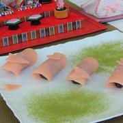 やさしい☆すたーびんぐママレシピ【フライパンで簡単☆花びら ひらひら♪】関東風さくら餅