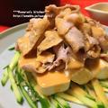 *【レシピ】豚しゃぶと豆腐の胡麻だれサラダ* by りょうりょさん