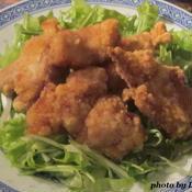 鶏もも肉のから揚げ〜花椒風味〜