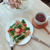 全粒粉ガレットでヘルシー&簡単朝ごはん♪ちょりママさん×レシピブログさんのイベントも!