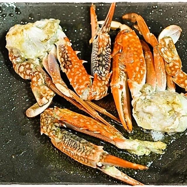 渡り蟹のトマトクリームパスタ(レシピ)
