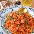 炊飯器でほったらかし♪米から作る簡単ミネストローネ風トマトリゾット