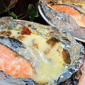 【レシピ】リメイク★とろ~り★めちゃ旨★カレー⇒【鮭のチーズカレーホイル焼き】