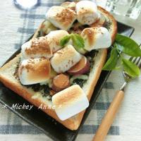 生姜香る❀さつま芋×マシュマロの胡麻トースト