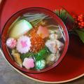 鶏肉と穴子の澄まし仕立てのお雑煮 by KOICHIさん