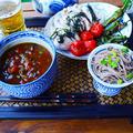 ピクルス×ブラックオリーブ×トマト の 冷やしつけジャワカレー 締めの蕎麦付き - スパイス大使 - うち飲みカフェにも by 青山 金魚さん
