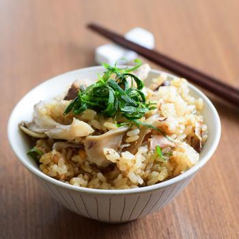 手軽に⭐︎サバ缶と舞茸の炊き込みご飯