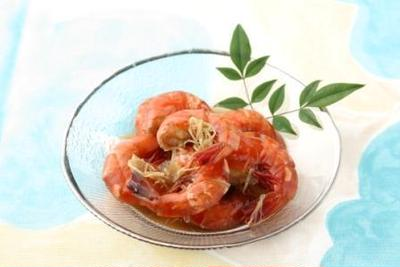 【7月の旬野菜レシピ】超簡単なおつまみ料理☆エビのショウガ煮