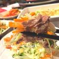 簡単!美味しい!焼き肉も楽チン♪ お肉巻き巻きにぴったりなお野菜の塩レモンナムル